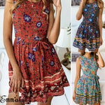 Sleeveless Flora Mini Dress