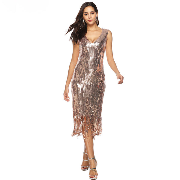 Sexy Sequin Bodycon Dress