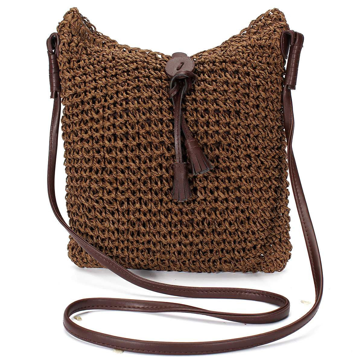 On the Road Again Crossbody Jute Handbag - Sassy Posh - 3