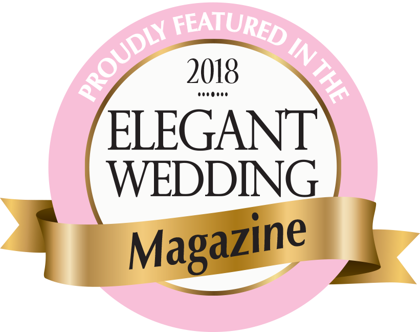 As Seen in Elegant Weddings Magazine