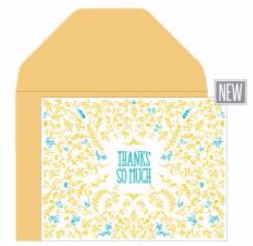 Thank You Doodles Card