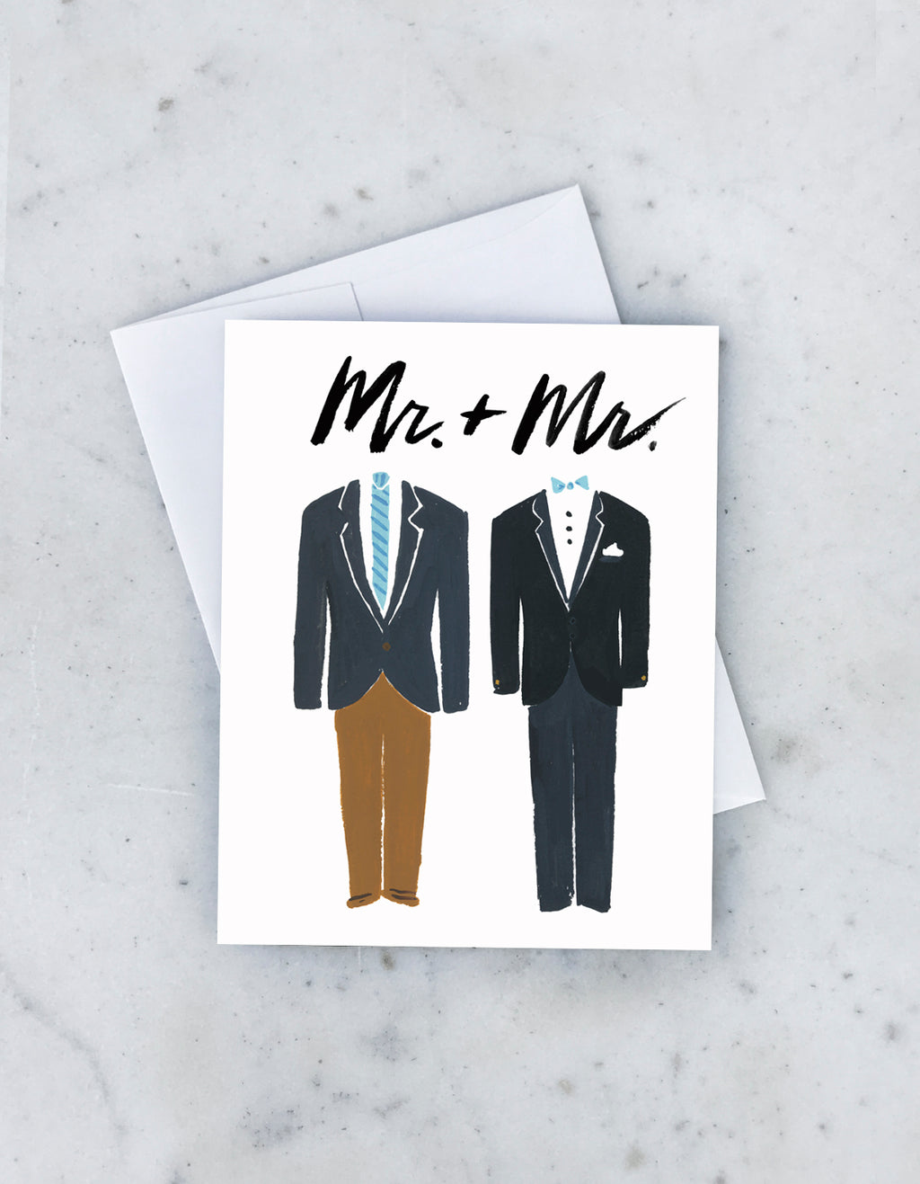 Groom & Groom Tuxedos Card