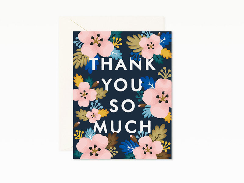 Azalea Thank You Card