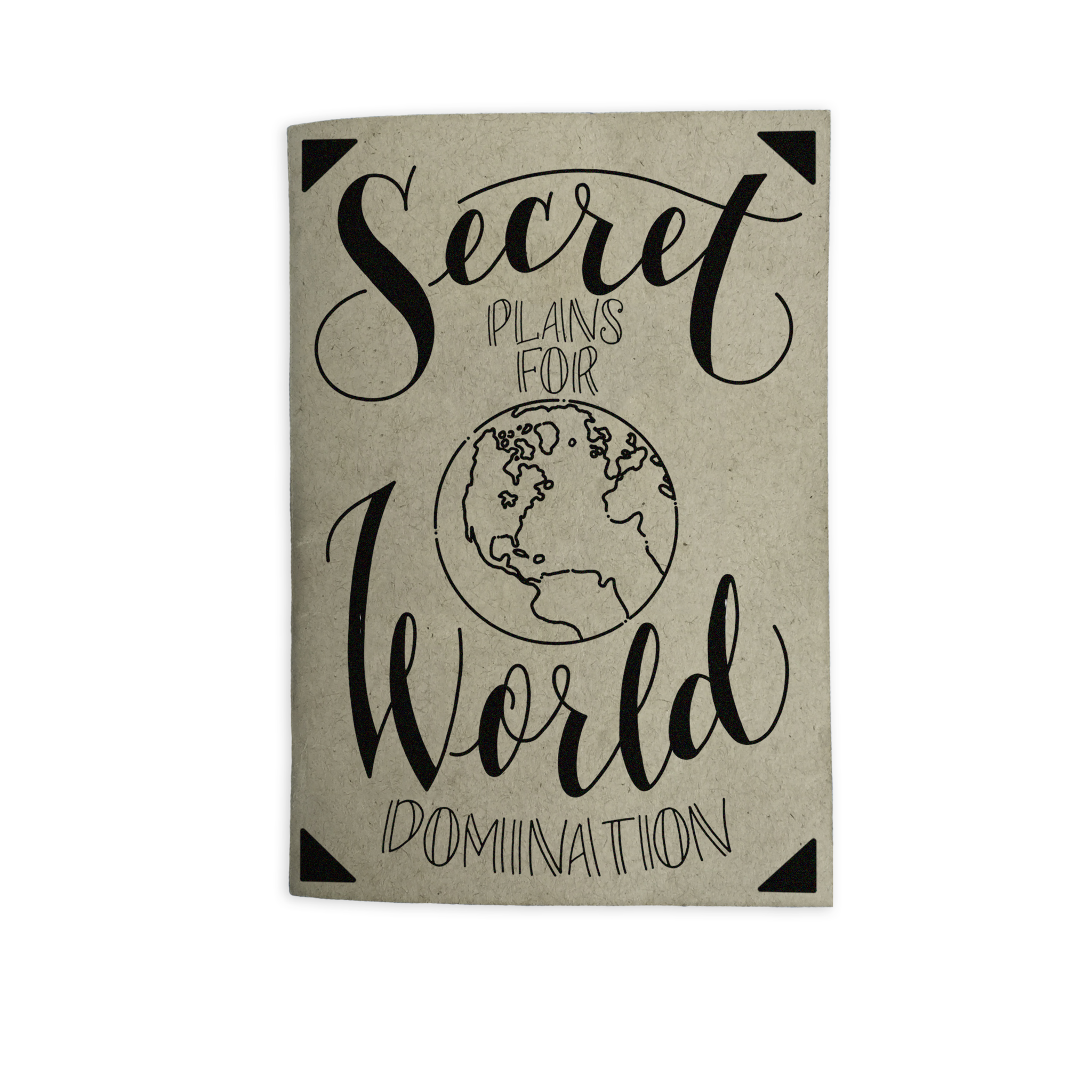 World Domination Pocket Journal