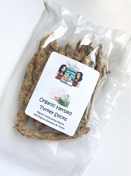 Organic Herbed Turkey Sticks
