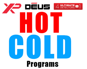 "XP Deus ""HOT and ""COLD"" Settings, try this on your next Hunt."