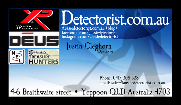 dtectorist.com.au for Xp deus in Australia