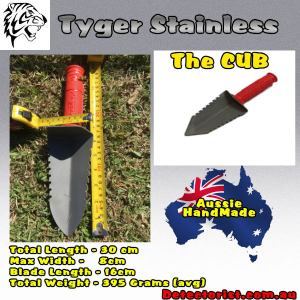 The Tyger stainless Cub Digging tool