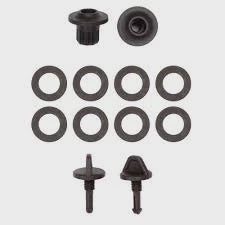 GPZ 7000 Coil wear Kit Nut bolt and washers