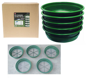 5pc Wire Sifting Pan Set