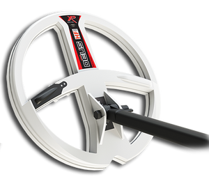 XP Deus Version 5 High frequency 22.5 cm (9 Inch) Round Coil. The white One!