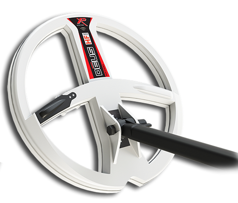 XP Deus Version 4 High frequency 22.5 cm (9 Inch) Round Coil. The white One!
