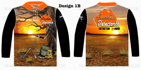 Image of Aussie Detectorist Detector Wear Design 1LS The Detector Tree.
