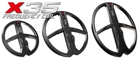 XP Deus X35 Coils for Version 5. 9 Inch, 11 inch and 13 x 11 Inch available