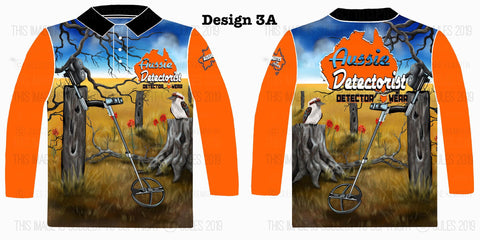 Image of Aussie Detectorist Detector Wear Design 3LS The Detector Burra