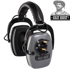 Gray Ghost Headphones for XP Deus and XP ORX, Turn your Backphones into FULL Headphones!