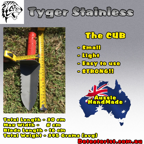 Tyger Stainless Digging Tool the CUB.