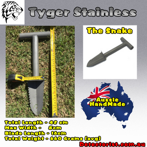 Tyger Stainless Digging Tool the Snake