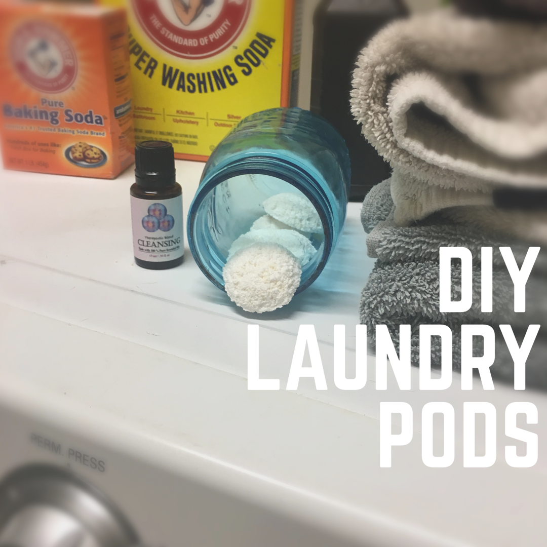 DIY Laundry Pods