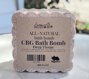 CBG Aromatic Bath Bomb