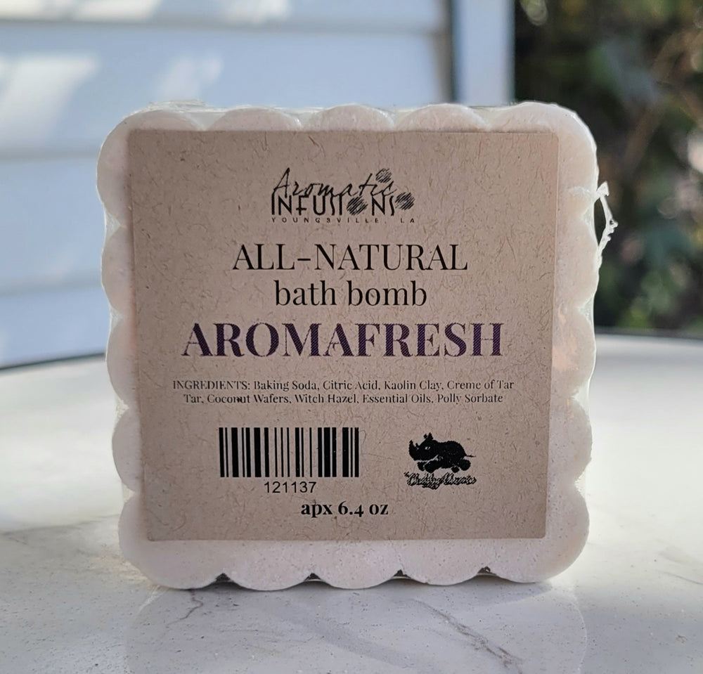 Load image into Gallery viewer, AromaFresh Aromatic Bath Bomb