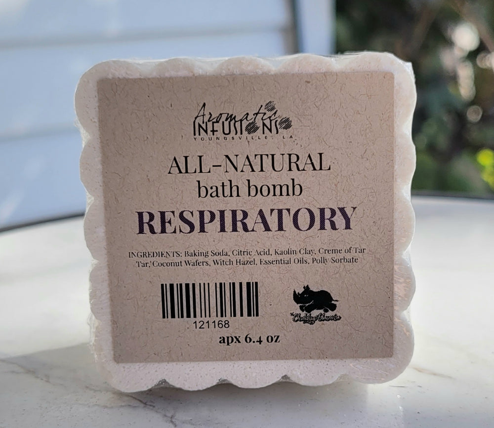 Respiratory and Congestion Aromatic Bath Bomb