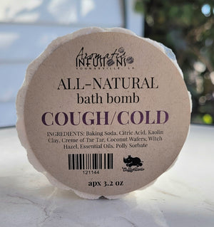 Cough and Cold Aromatic Bath Bomb