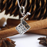 Sterling Silver Diffuser Necklace