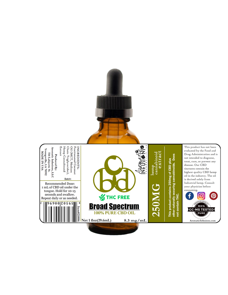 CBD-BSO THC Free in MCT Oil