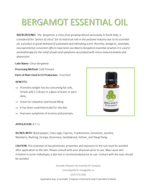 Load image into Gallery viewer, Bergamot Essential Oil 15ml