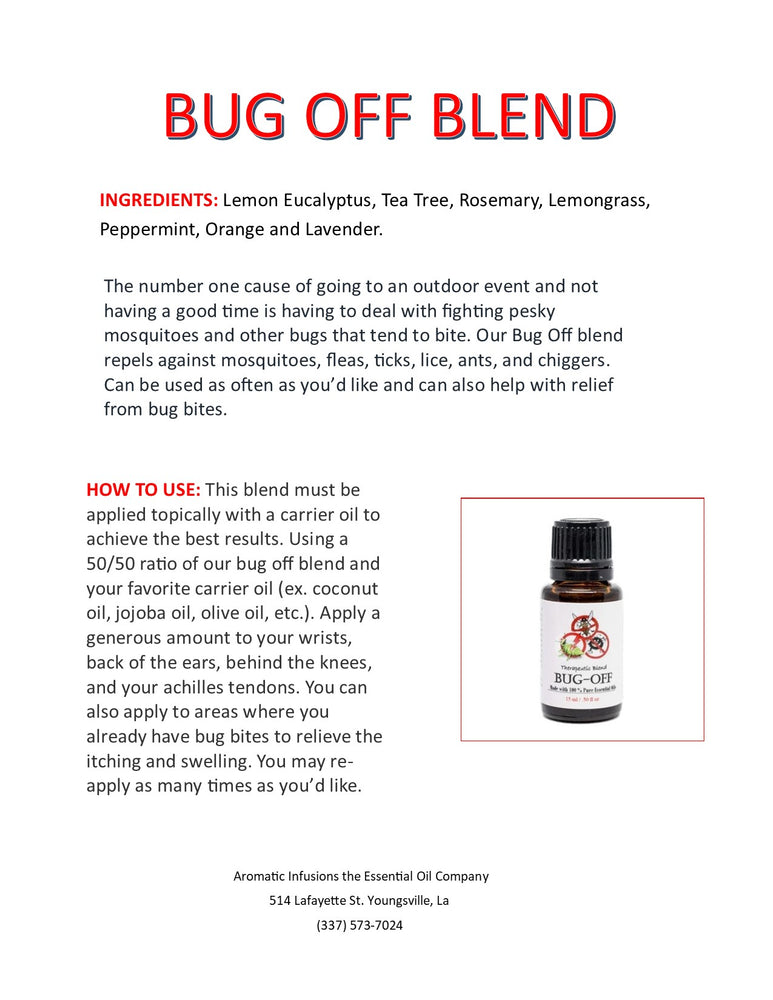 Bug Off Blend 15ml