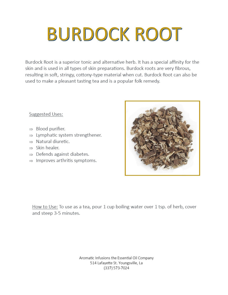 Load image into Gallery viewer, Burdock Root Cut OR