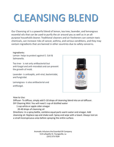 Cleansing Blend 15ml - Aromatic Infusions