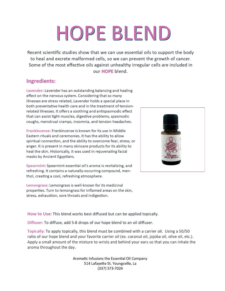 Load image into Gallery viewer, Hope Blend 15ml