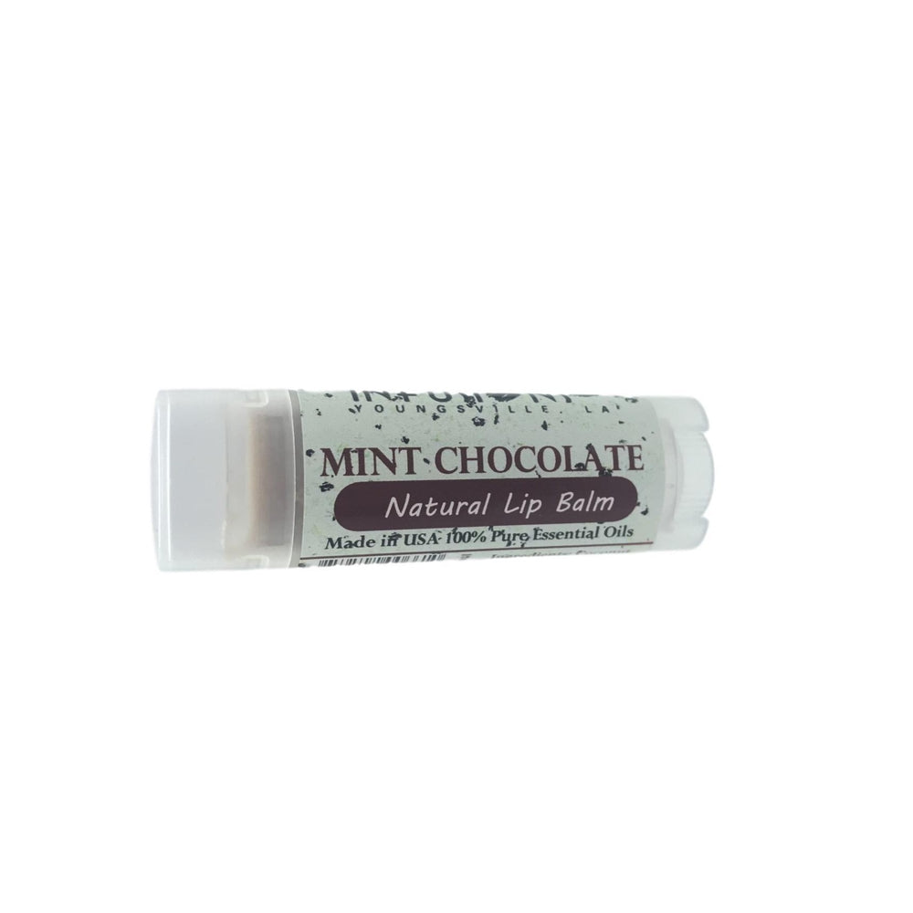 Mint Chocolate Oval Lip Balm