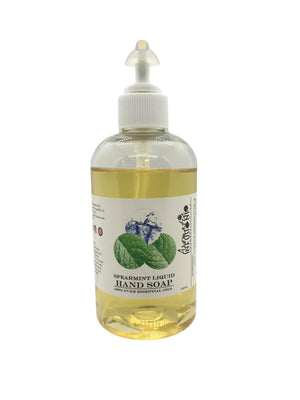 Spearmint Liquid Hand Soap 8oz