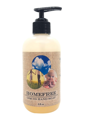 HomeFree Liquid Hand Soap ~ 8oz