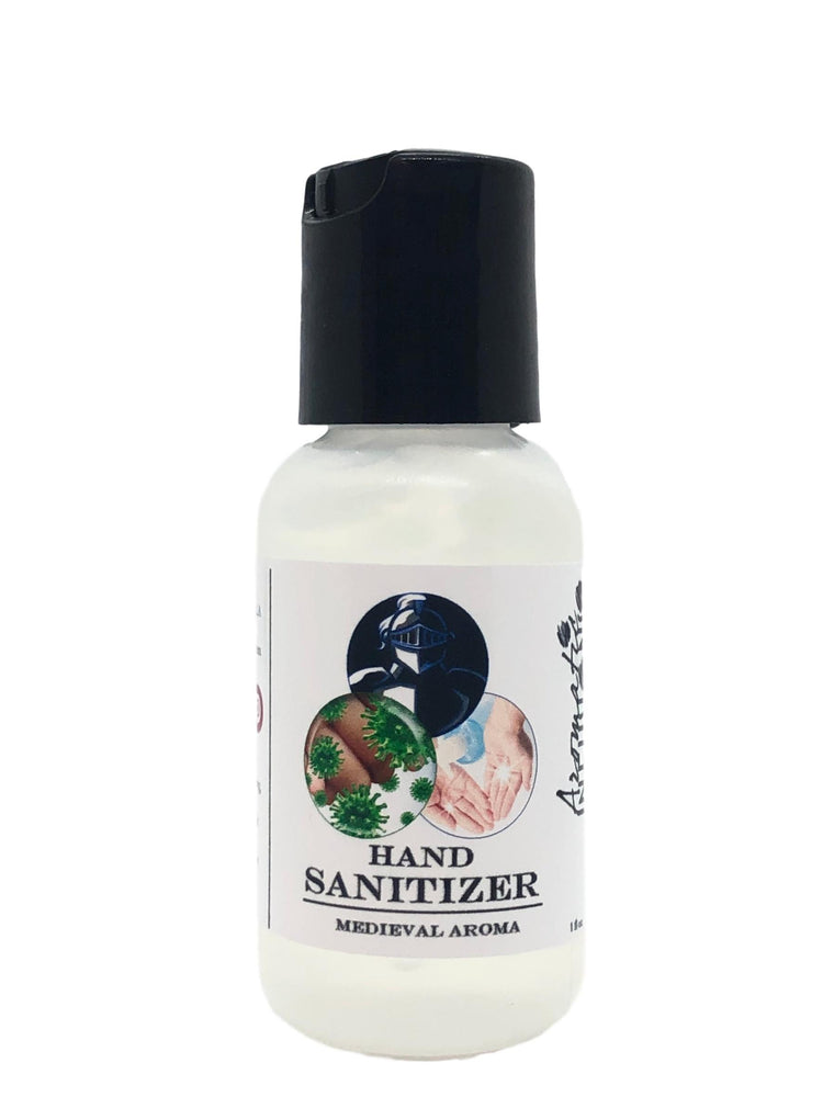 Gel Hand Sanitizer: Medieval 1oz