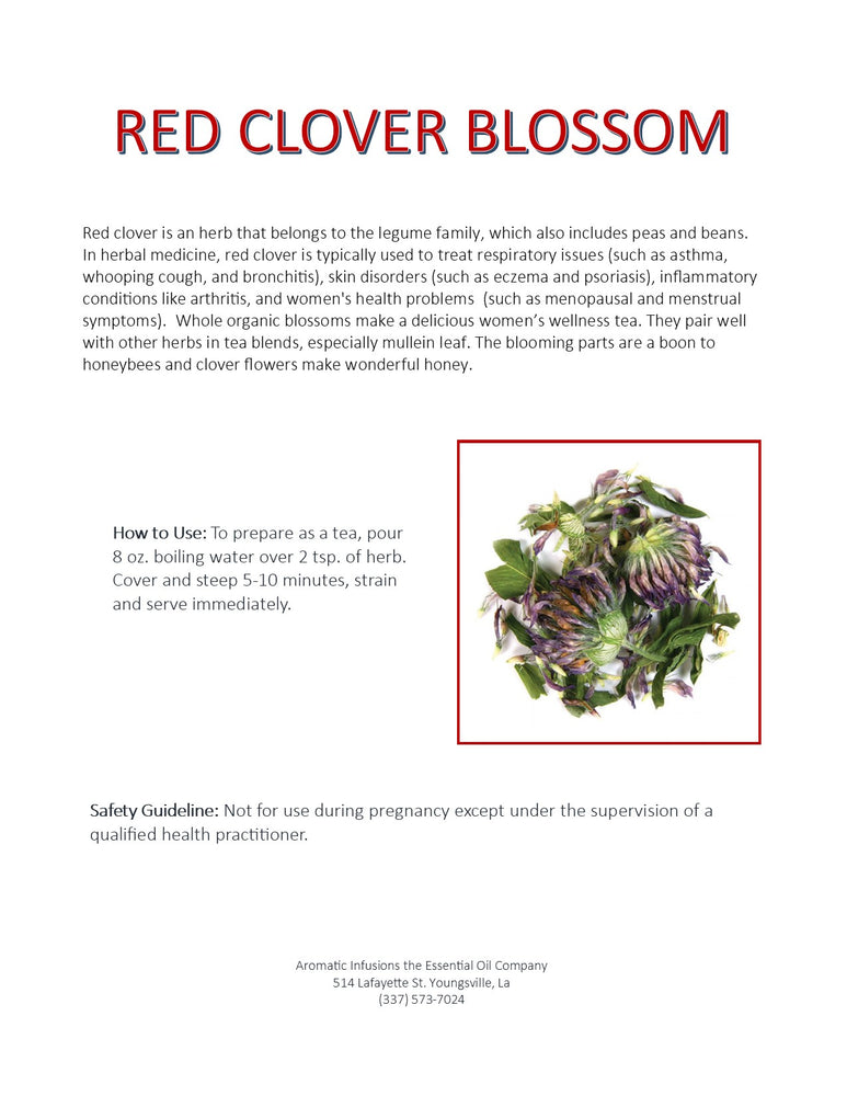 Red Clover Blossoms OR