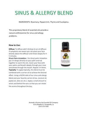 Load image into Gallery viewer, Sinus & Allergy Blend 15ml