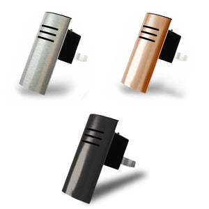 Carl - Vent Clip Vehicle Essential Oil Diffuser (Black, Copper, and Silver)