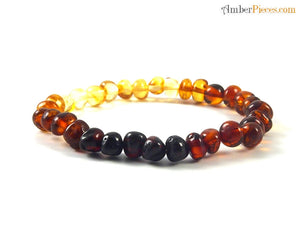 Load image into Gallery viewer, Adult Amber Bracelet - Baroque Style