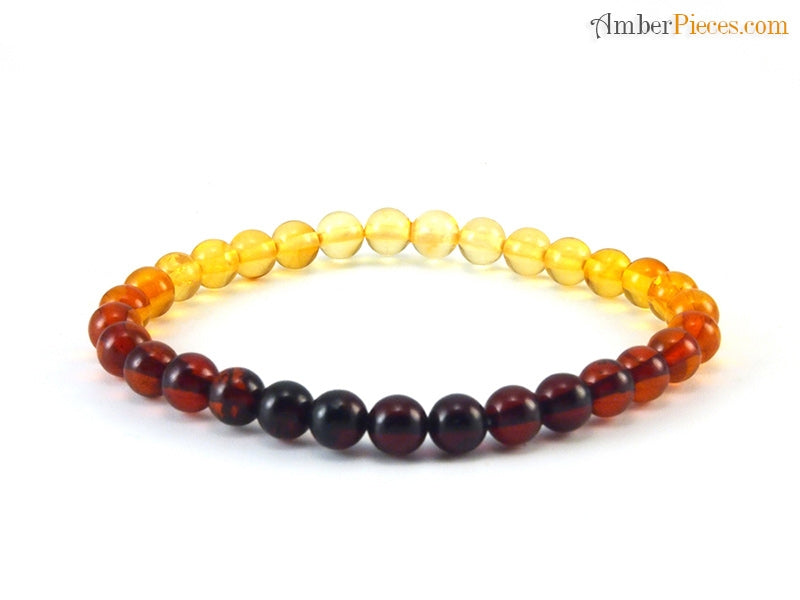 Load image into Gallery viewer, Adult Amber Bracelet - multi color