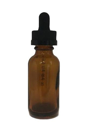 1oz Amber Dropper Bottle