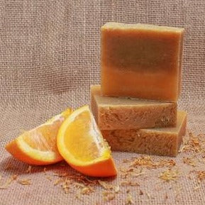 Orange Hibiscus Soap
