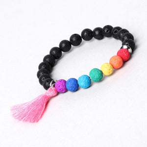 Load image into Gallery viewer, Diffuser Bracelet with Tassel