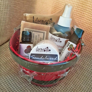 Load image into Gallery viewer, Sandalwood Gift Basket
