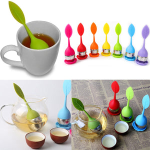 Load image into Gallery viewer, Silicone Leaf Tea Infuser
