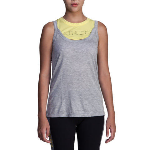ATHLETE Women's Kai Relaxed Two-tone Tank Top, Style AT02 - Athlete Beyond - For Her - Top - 1