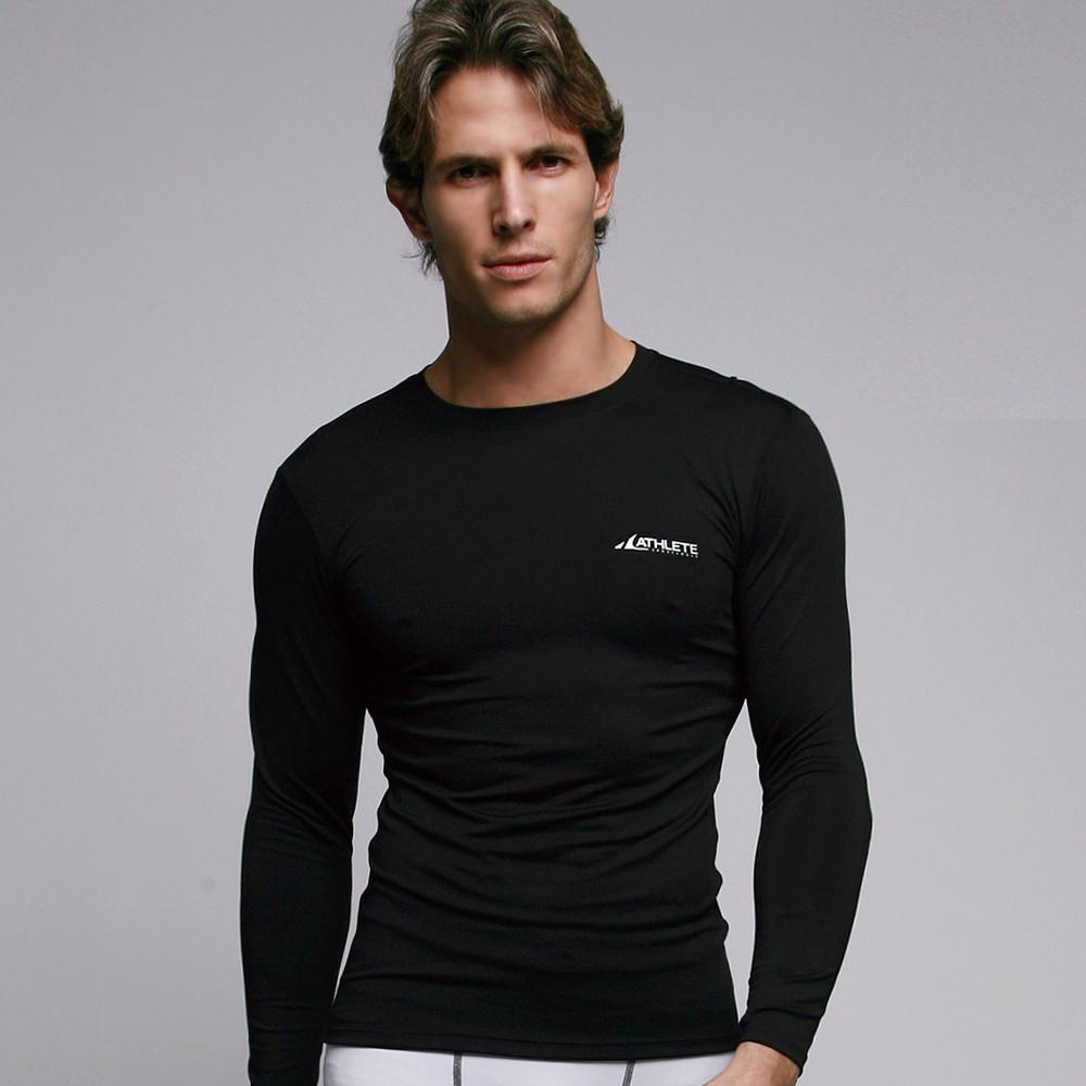 ATHLETE Men's Compression Base Layer Long Sleeve Top, Style B01 - Athlete Beyond - Men - Top - 1
